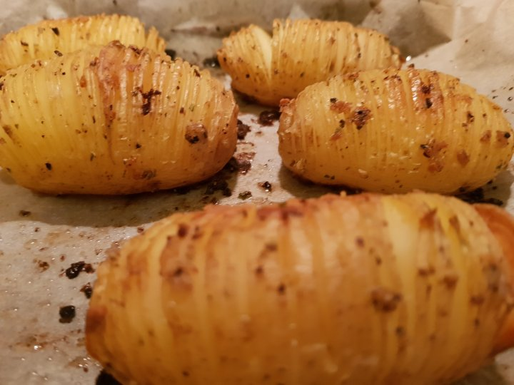 My Perfect Hasselback Potatoes