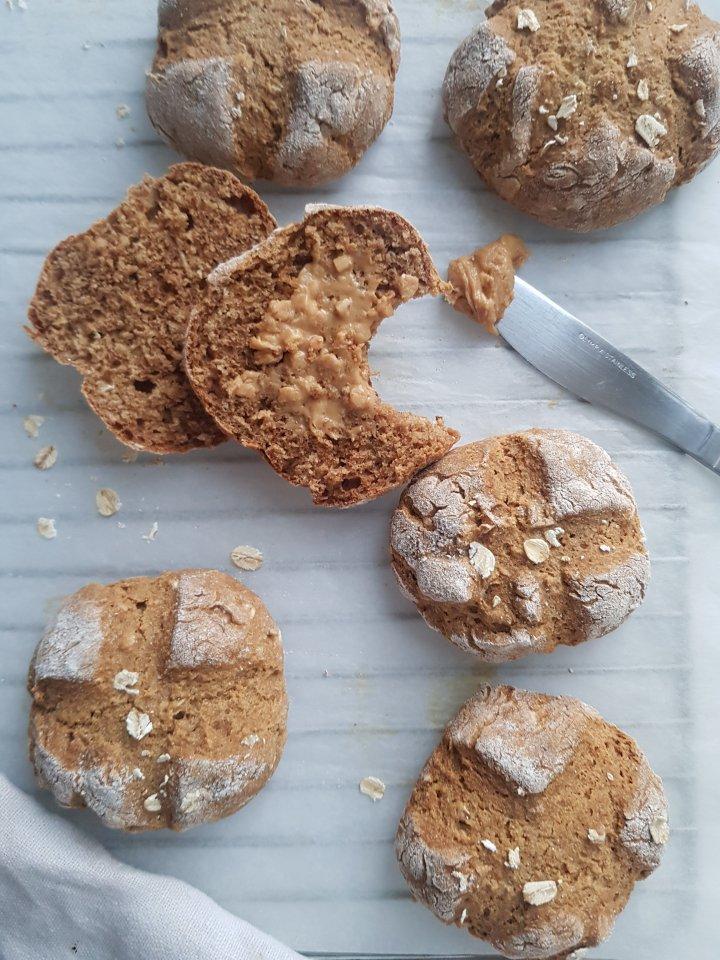 Delicious Buckweat BreadRolls