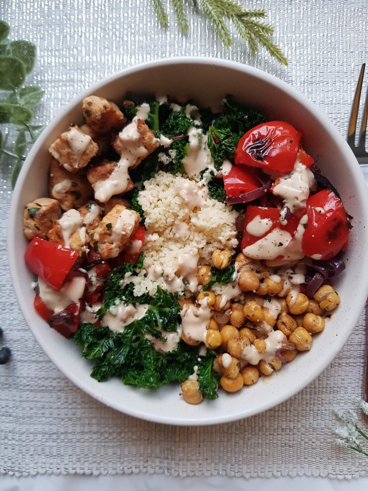 Quorn Chicken Buddha Bowl